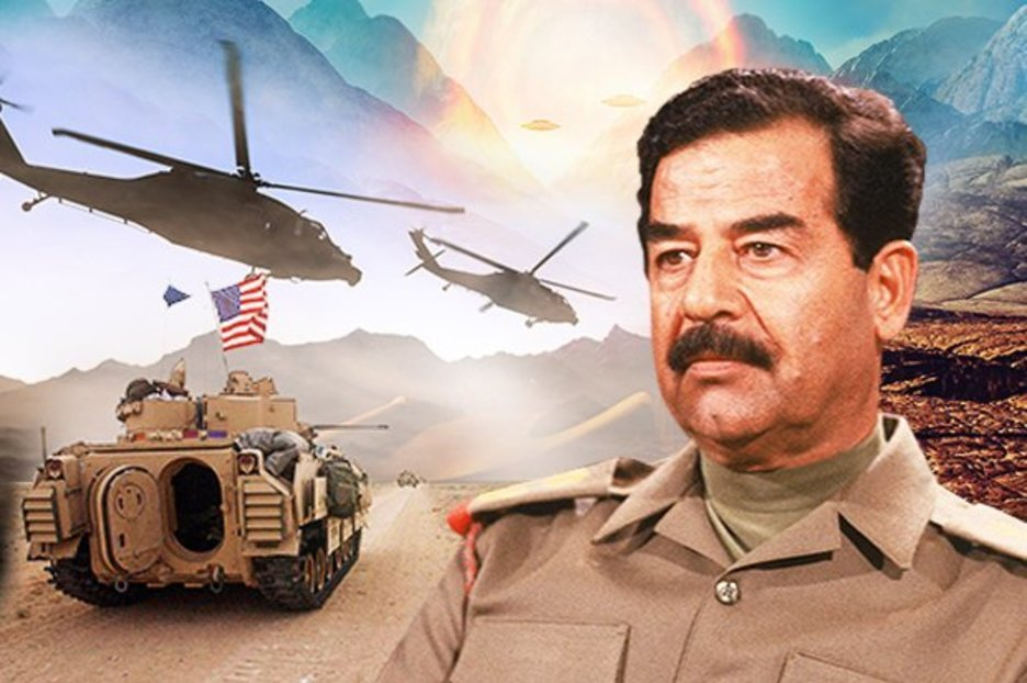 The REAL reason for the Iraq war? Saddam Hussein 'had stargate portal to alien world' – Alien UFO Sightings