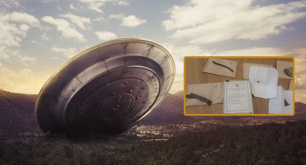 'British Roswell' UFO Wreckage Records Covered in Alien 'Hieroglyphics Found In Museum Archives