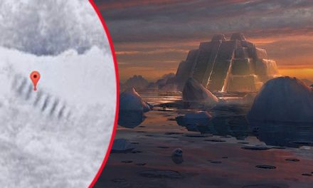 Huge Staircase in Antarctica – UFO Landing Spot or the Work of Giants?