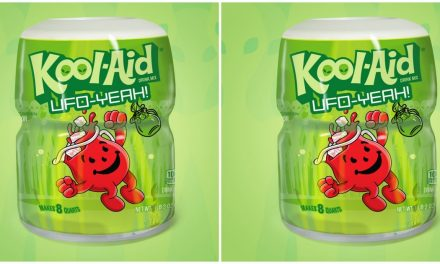 """Kool-Aid's """"UFO-Yeah Intergalactic Green"""" Flavor Was Inspired By Area 51"""