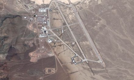 Alien-Hunter Finds 'UFO' At Area 51 By Using Google Earth
