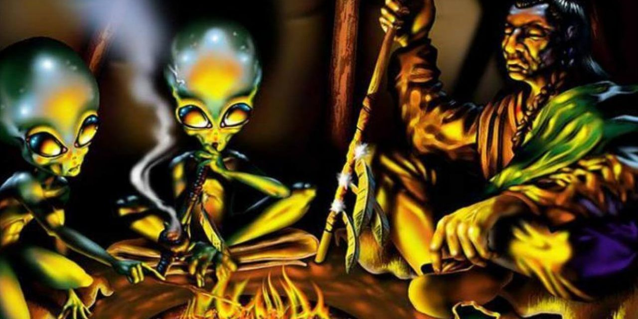 Here's Why Native Americans Have No Fear Of Aliens – Alien UFO Sightings