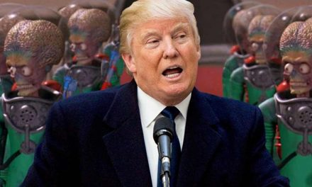 "Trump Vowed to ""Unlock the Mysteries of Space."" Does that Include ALIENS?"