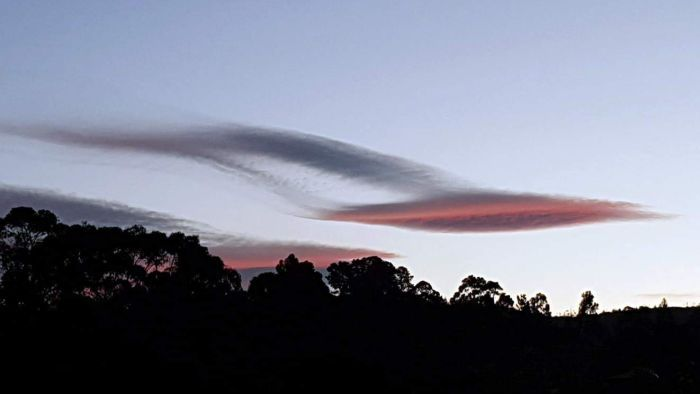 'UFO Clouds' Create Spectacle In Skies Over Tasmania