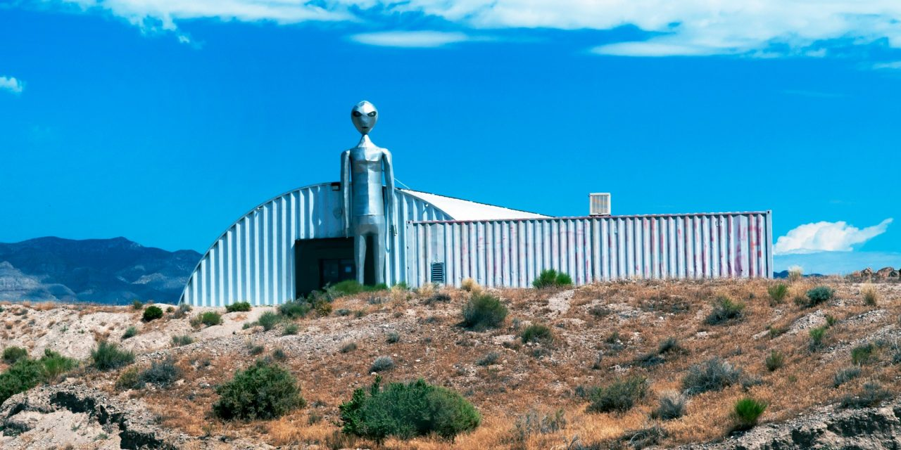 Don't Storm Area 51, Begs the Webmaster of the UFO Kingdom | WIRED