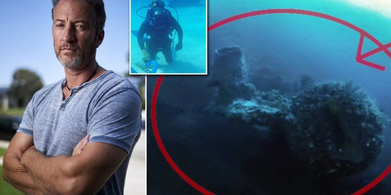 EXCLUSIVE: Discovery Channel treasure hunter claims he's found evidence of an extra-terrestrial spaceship while exploring ancient shipwrecks beneath the Bermuda Triangle – Alien UFO Sightings