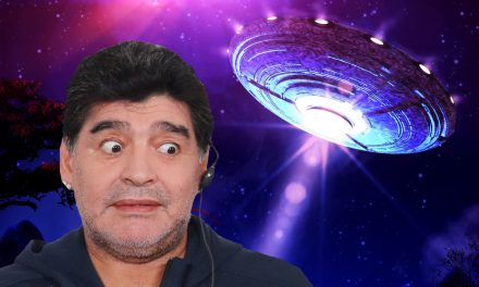 Diego Maradona claims he was abducted by a UFO and lost virginity at 13 to an older woman who was 'reading a newspaper'