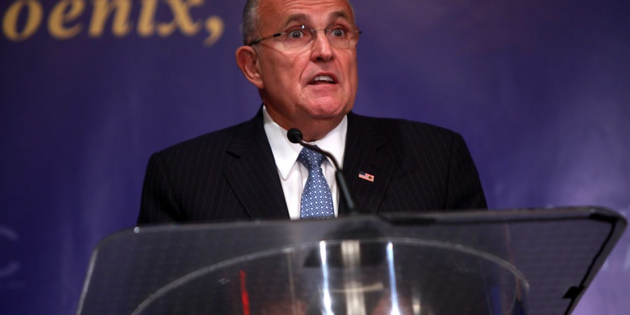 After Missing For Several Days, Rudy Giuliani Claims He Was Abducted By Aliens