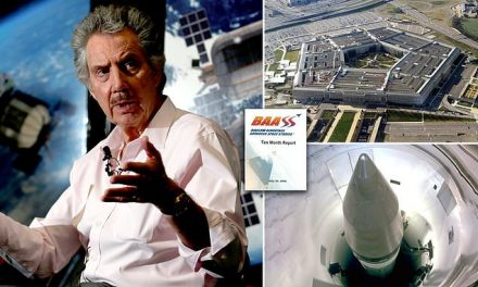 Research contracted by Pentagon describes UFO encounters at nuclear ICBM silos | Daily Mail Online