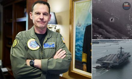 USS Nimitz captain says his crew has an 'obligation' to ensure the airspace is clear of UFOs | Daily Mail Online