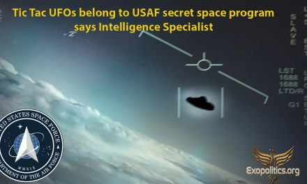 Tic Tac UFOs belong to USAF secret space program says Intelligence Specialist » Exopolitics