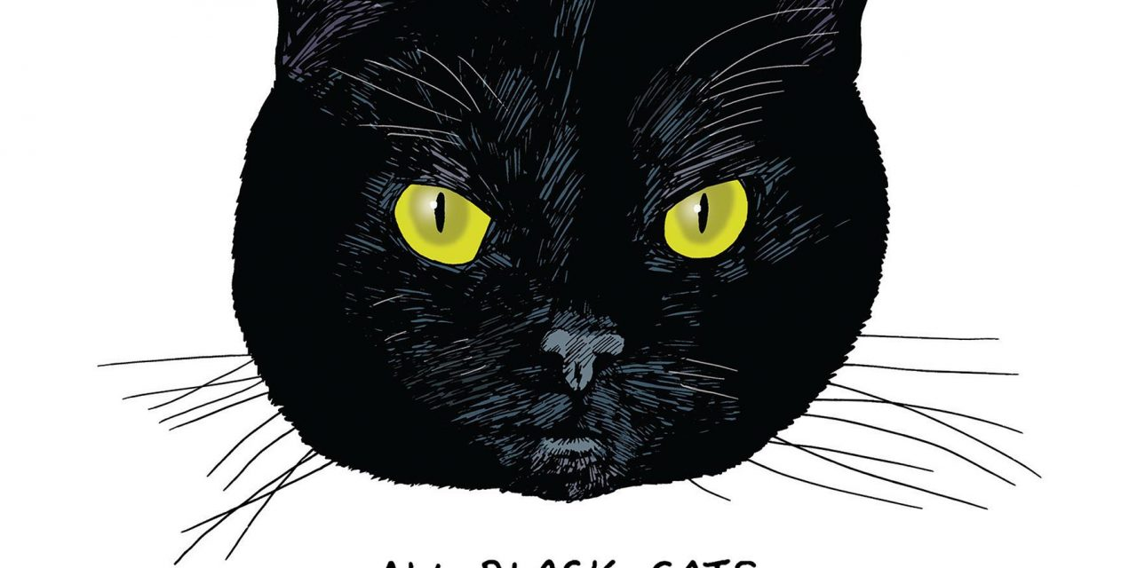 """An Illustrated Study of Black Cats, the """"Little Aliens"""" of the Feline World"""