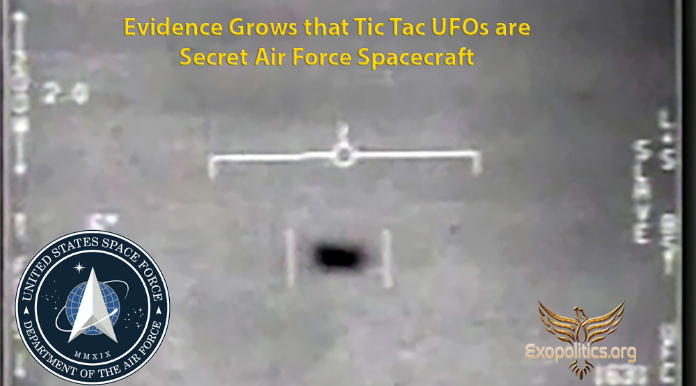 Evidence Grows that Tic Tac UFOs are Secret Air Force Spacecraft » Exopolitics