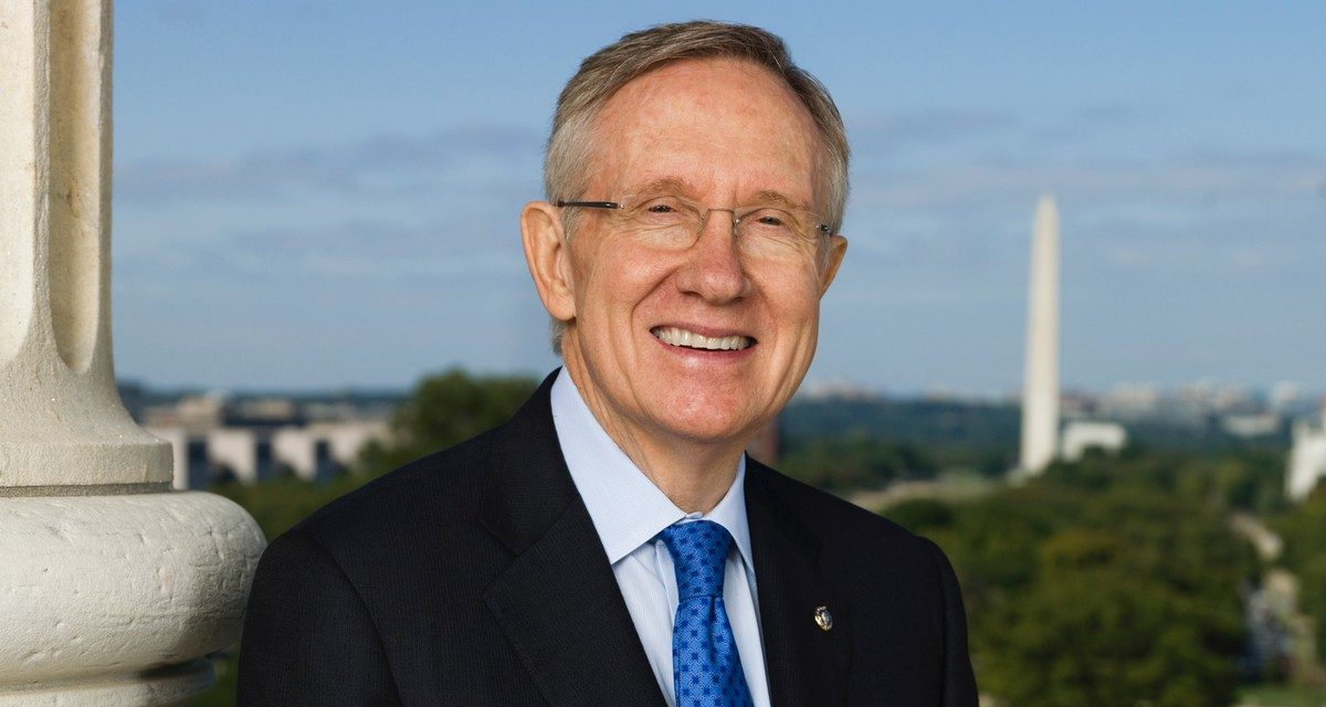 Former Sen. Harry Reid Believes in Aliens, Urges Politicians to Not Be Afraid