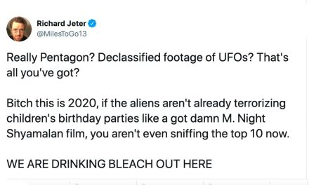 22 of the funniest reactions to The Pentagon's declassified UFO footage.