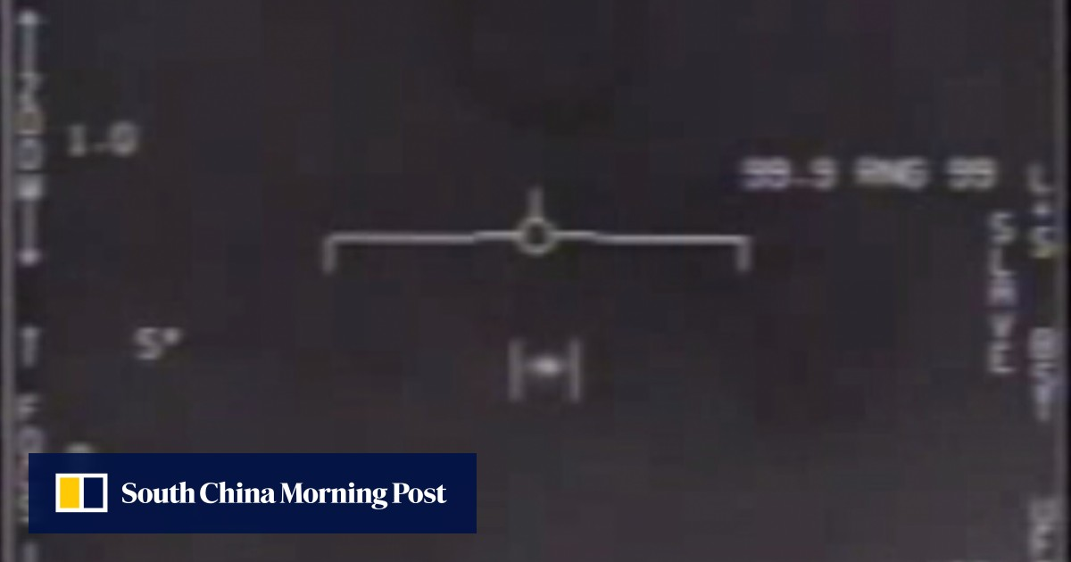 Three UFO videos from US Navy released by Pentagon | South China Morning Post