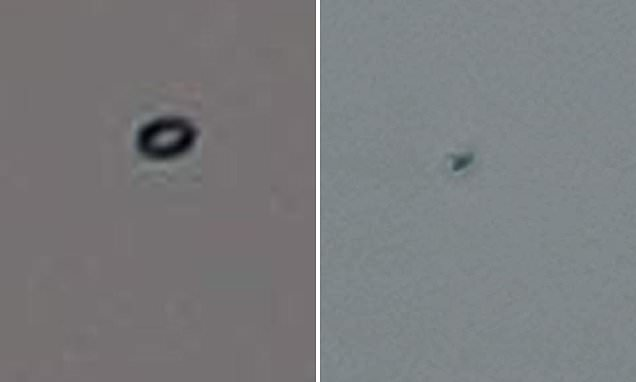 Baffled onlookers describe how a 'black ring' UFO darted over hippy town for 40 MINUTES | Daily Mail Online