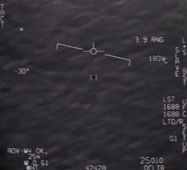 UFO videos, shot by US Navy and later leaked, declassified by Pentagon