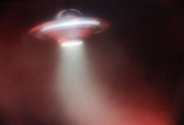A Word about Those UFO Videos – Scientific American Blog Network