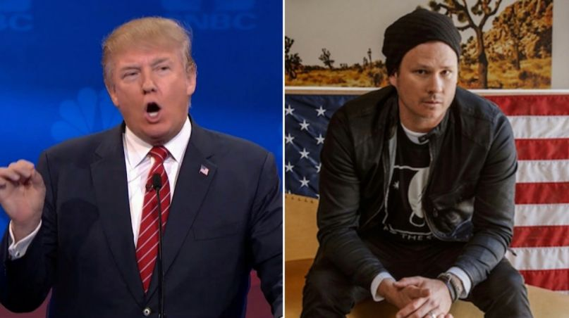Trump Questions Authenticity of Tom DeLonge's UFO Videos | Consequence of Sound