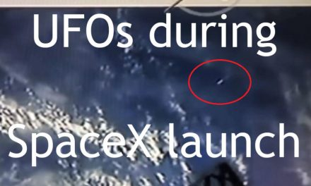 Multiple UFOs filmed during SpaceX launch yesterday! | Latest UFO sightings