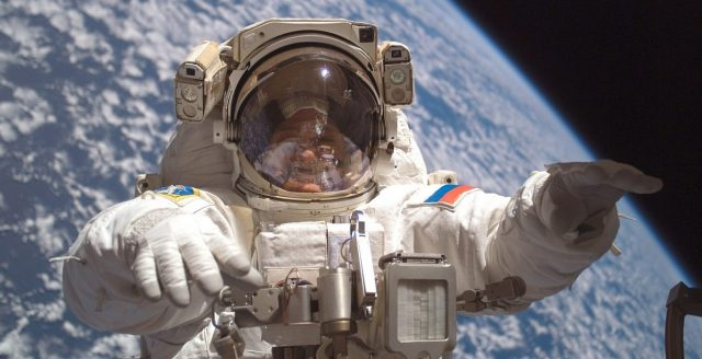 Russian Cosmonaut on Space Station Films and Reports Five UFOs