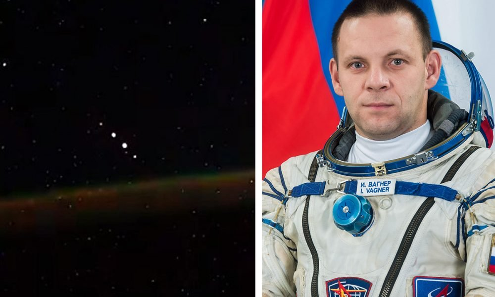 Russian Astronaut On The ISS Allegedly Sees 5 UFOs In New Footage