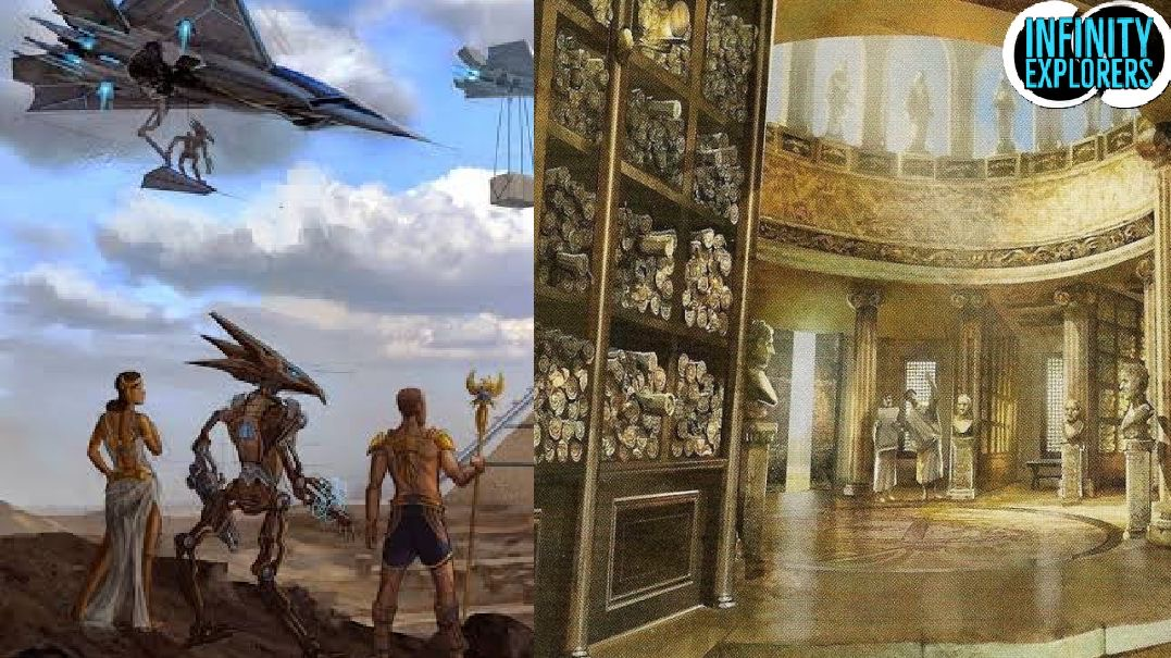The Great Library Of Alexandria: Did It Contain Information About Aliens And Who Destroyed It? – Infinity Explorers