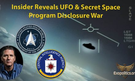 Insider Reveals UFO & Secret Space Program Disclosure War » Exopolitics