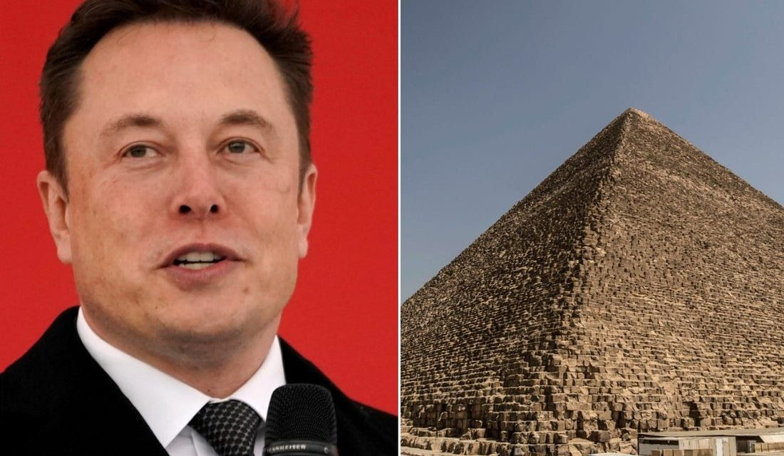"""Elon Musk Hints Egyptian Pyramids Were """"Obviously"""" Built By Aliens – UFOholic.com"""