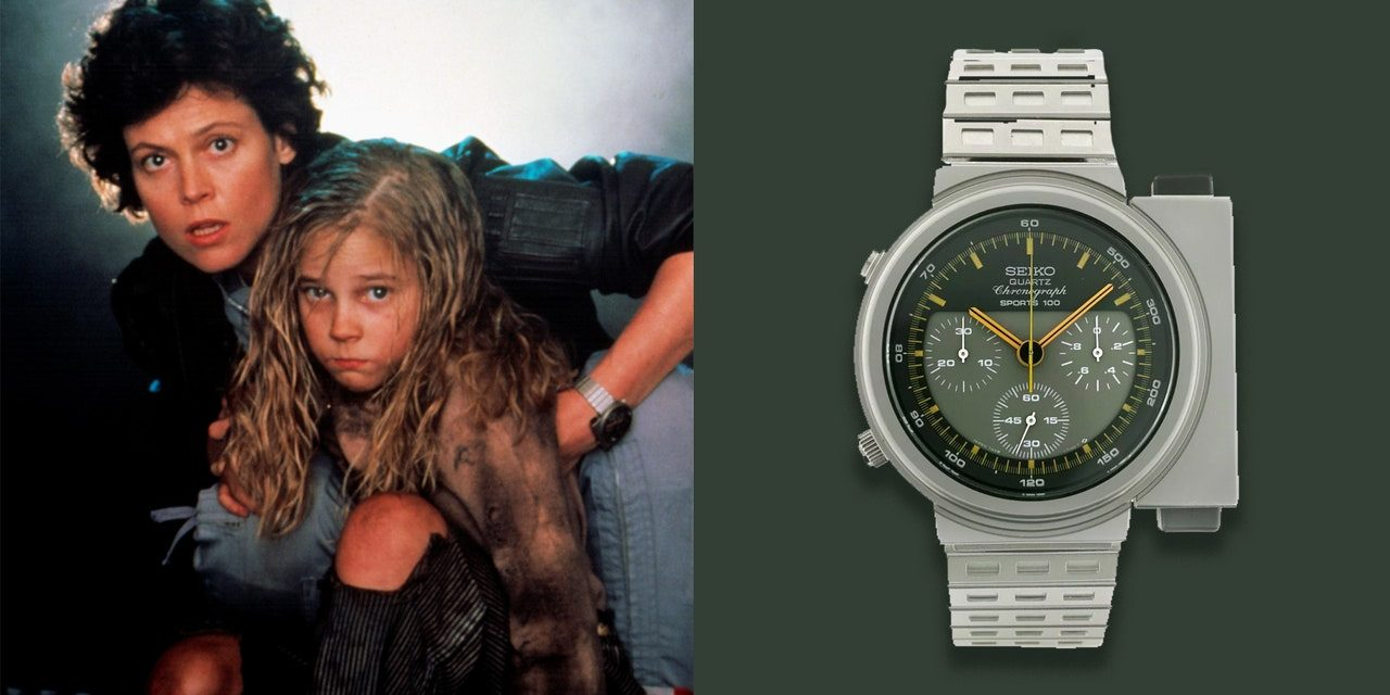 The 'Aliens' Seiko Watch Was Made for 2179, but It Looks Awesome in 2020, Too | GQ