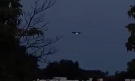 Was a UFO Spotted Over New Jersey?