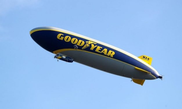Alien Enthusiasts Go Nuts After 'UFO' Is Sighted Over New Jersey—But It Was Just The Goodyear Blimp