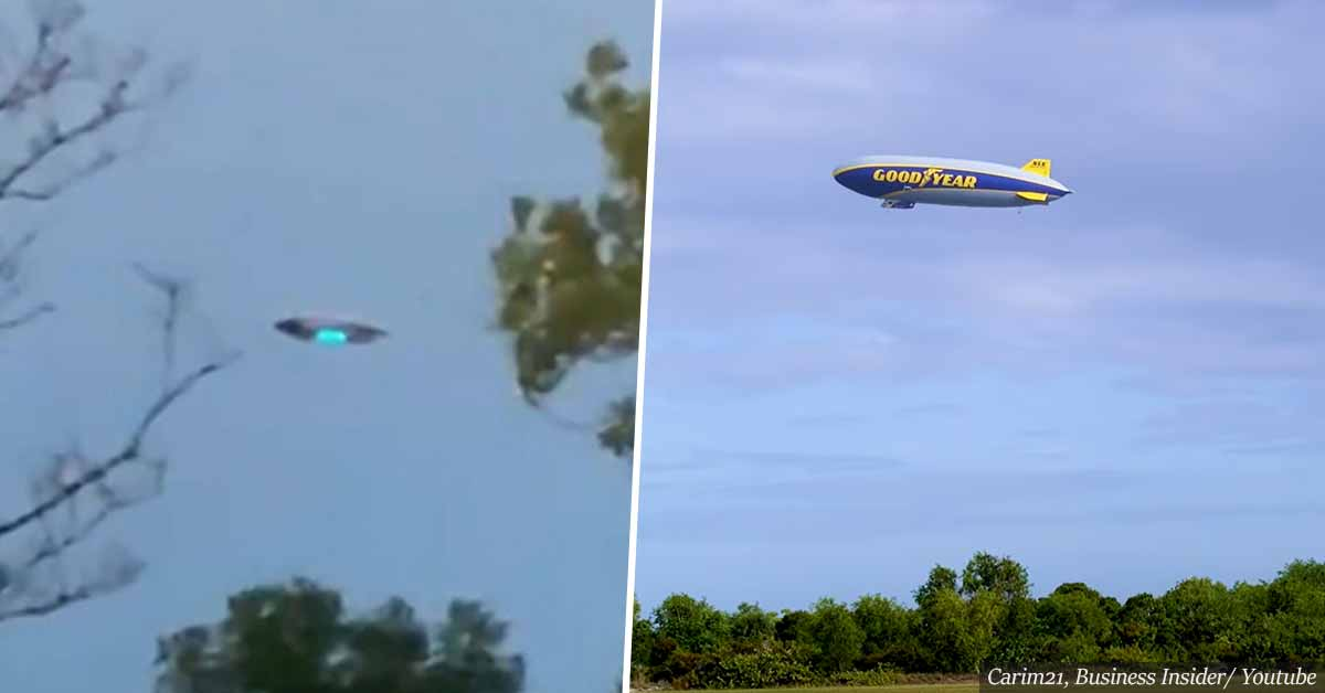 """""""New Jersey UFO sighting"""" – turns out to be just a Goodyear blimp"""