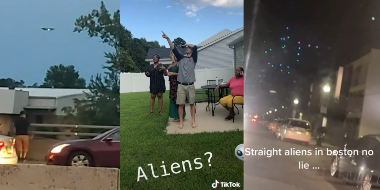 TikTokers think 'alien invasion' happened overnight after FYP gets flooded with UFO videos