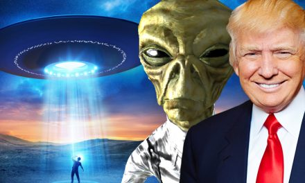 Trump Promises to Take a 'Good, Strong Look' at UFOs and the Existence of Aliens