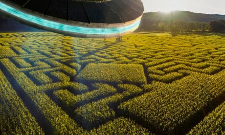 Festive Corn Maze Misread By Aliens As Declaration Of Intergalactic War