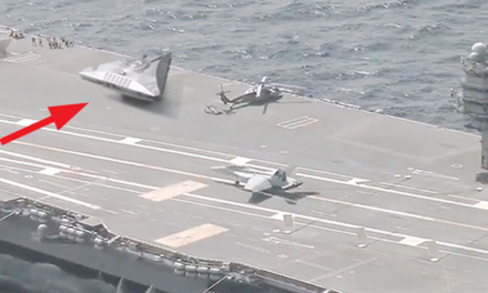 Triangle-Shaped UFO Filmed On U.S Aircraft Carrier in the Mediterranean Sea – Leaked Video – Alien News