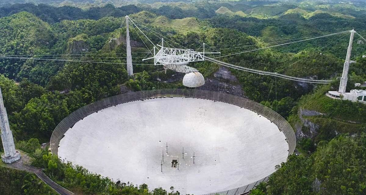 Arecibo Heartbreak: Iconic SETI Dish Will Be Demolished Due to Risk of 'Catastrophic' Collapse
