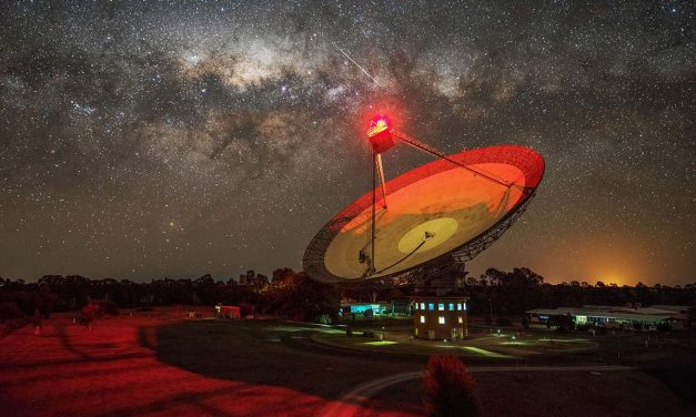 Weird radio beam probably isn't aliens but it's the best candidate yet | New Scientist