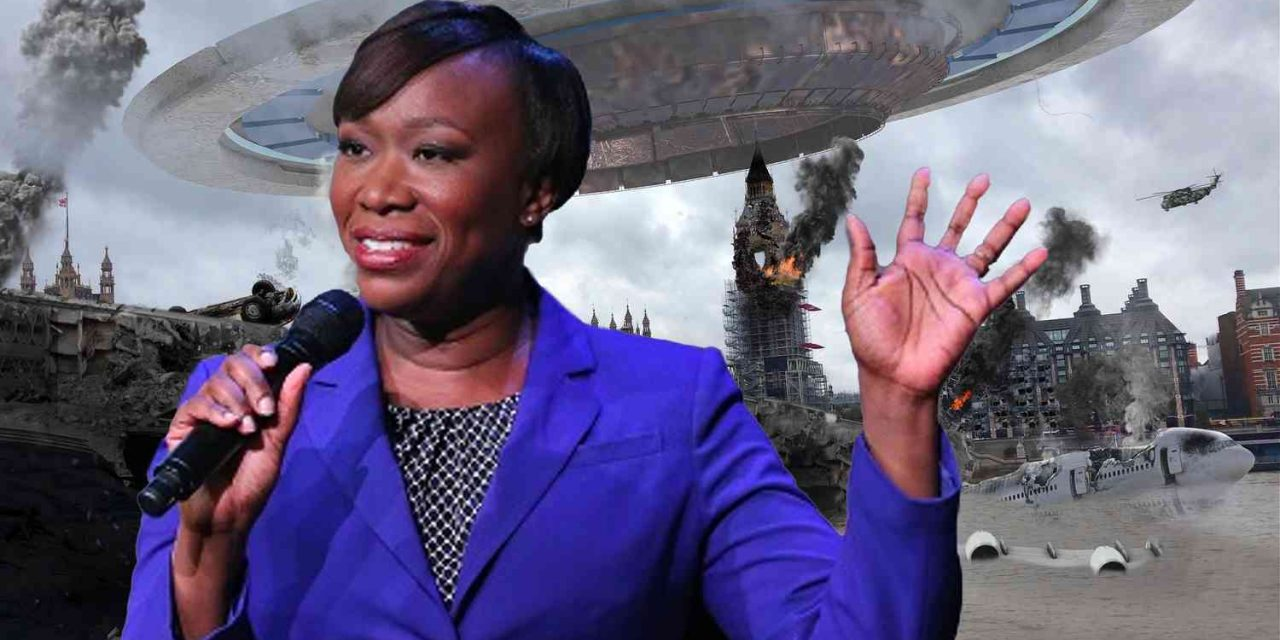 """MSNBC's Joy Reid says aliens from outer space might come attack us as """"punishment"""" for """"destroying the planet"""" via climate change 👽🥴 