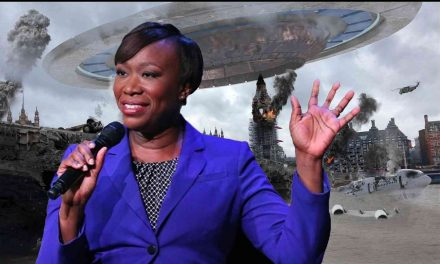 "MSNBC's Joy Reid says aliens from outer space might come attack us as ""punishment"" for ""destroying the planet"" via climate change 👽🥴 