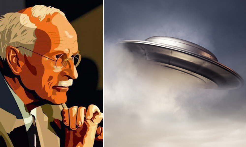 Declassified CIA Document Claims Carl Jung Accused U.S. Air Force of Covering Up Truth About UFOs
