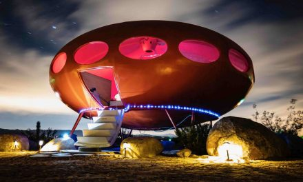 Airbnb in Joshua Tree National Park Looks Like a UFO | Mental Floss