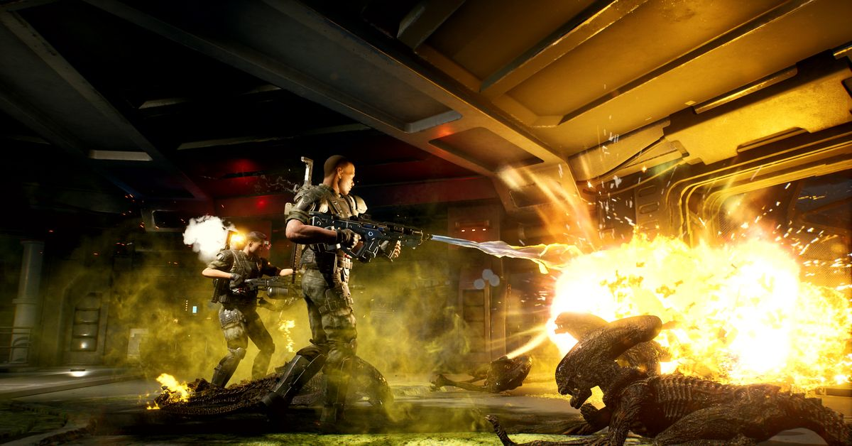 Aliens: Fireteam is a new Colonial Marines co-op survival shooter – Polygon
