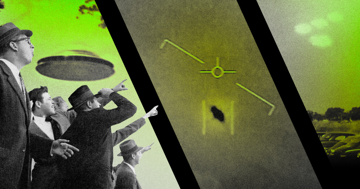 How UFOs made their way from popular culture to the U.S. Senate