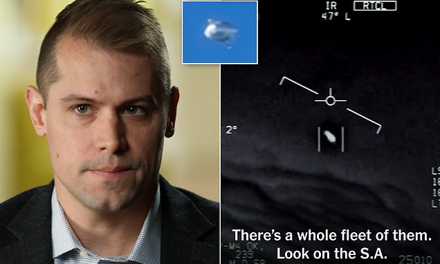 US Navy pilots saw UFOs off the coast of Virginia so frequently they got used to them | Daily Mail Online