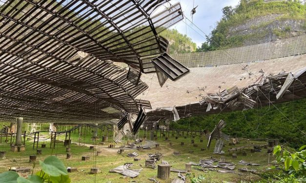 Second Cable Fails at Arecibo, Causing Even More Damage to Famed SETI Dish