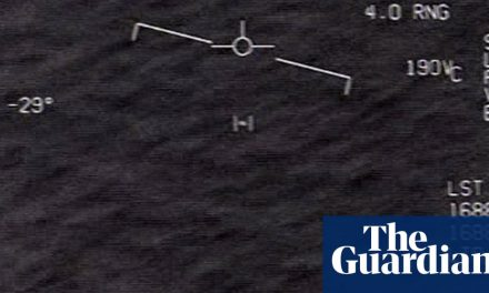 'Something's going on': UFOs threaten national security, US politicians warn | US national security | The Guardian