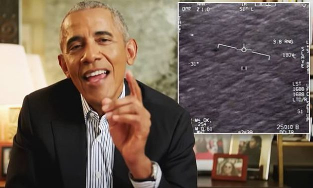 Obama 'absolutely' wants to know truth behind UFOs, US could up weapons spend, have new religions   Daily Mail Online